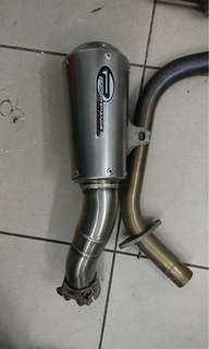 R25 proformance exhaust