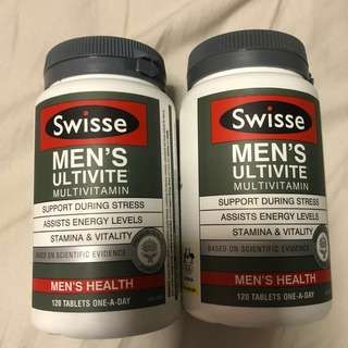🚚 Swisse Men's Ultivite Multivitamin