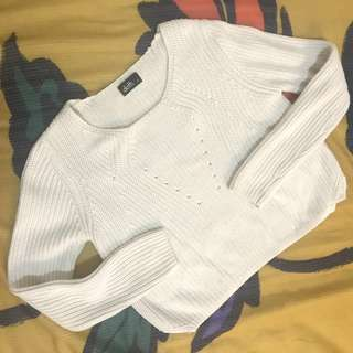 Dotti cropped knitted sweater