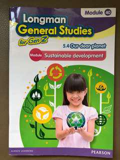 Longman General Studies for GenZ (小學5年級英文常識書)