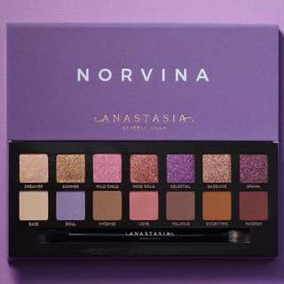 Anastasia Beverly Hills Norvina Palette Brand New & Authentic ARRIVING AUGUST Jeffree Star Approved! [NO SWAPS, PRICE IS FIRM]