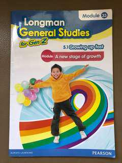 Long man General Studies for Gen Z (小學5年級英文常識書)