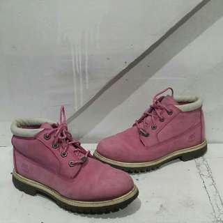 Authentic Pink Timberland