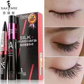 💄 Sakinre 4D Silk Fibre Mascara - Extra Lengthening