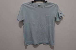 champion tshirt baby blue