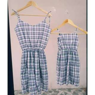Dress mom & daughter terno