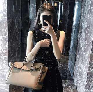 🚚 立體珠珠挺版洋裝