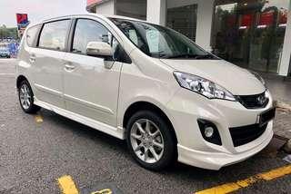 Perodua Alza 1.5 (Auto) 2018 car rental kereta sewa