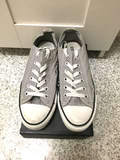 Striped Converse