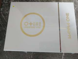 (sealed, inclu preorder benefit) Wanna One Officual IPU MD