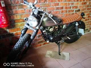 Honda cb100 cafe racer custom