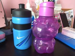 $15 for 2 - Nike and Tupperware small bottle