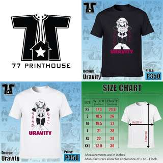 Uravity | My Hero Academia Anime T-Shirt