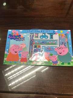 Peppa Pig stationery set