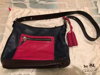 Coach bucket bag in mixed color