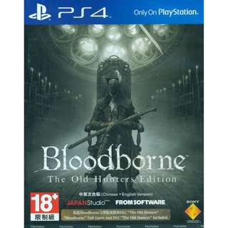 Bloodborne - The Old Hunters Edition PS4