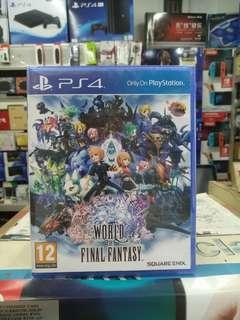 🆕 PS4 World of Final Fantasy