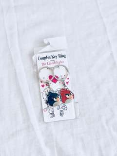 Angry Birds Couple Key Chain ❤️