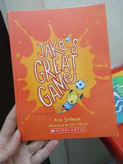 Scholastic Jake's Great Game