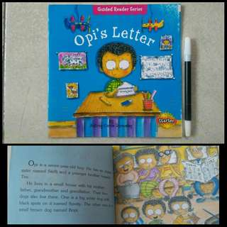 Buku anak Guided Reader Series Opis Letter