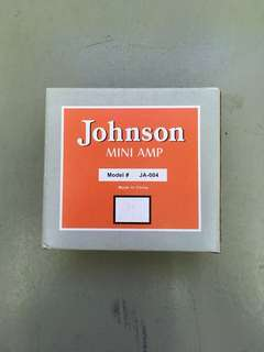 Johnson Mini Guitar Amp (faulty), good for repair or spare parts.