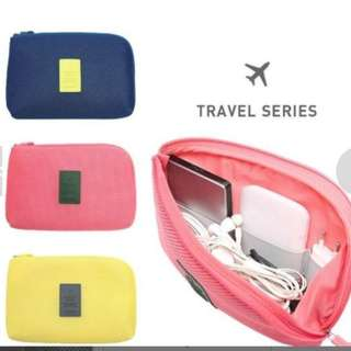 GV Shockproof Travel Data Cable Charger Storage Bag