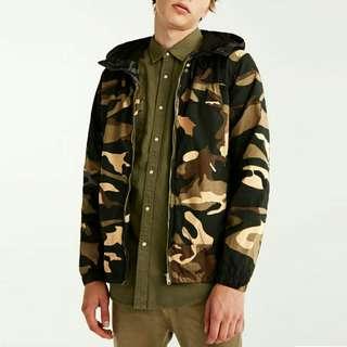 Jacob jaket pria parka distro motif army