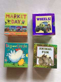 Mini board books for children