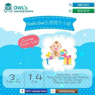 免費體驗【Feels Owl五感提升小組】(英語班)