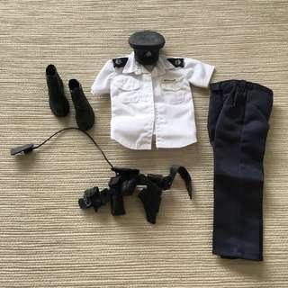 99b6ab41c4bc0 (2 sets) 1 6 Hong Kong Police outfit + 1 off-duty