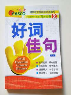 PSLE Chinese Composition Phrases book