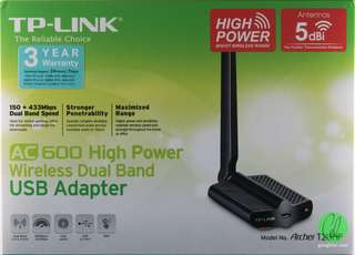 TP-LINK ARCHER T2UHP USB WIRELESS ADAPTER