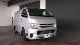 New 2018 Toyota Hiace - Contact For Updated Price