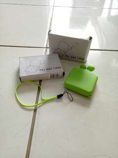 Kotak Obat Lucu (Pill Box Ekay Green)