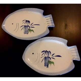 Fish plate x 2