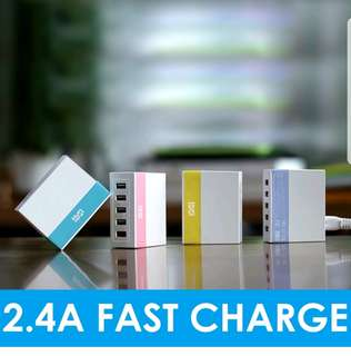 5 USB PORT CHARGERS