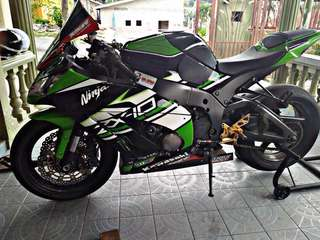 Zx-10r 2014 🇲🇾 Continue Loan. LOW DP. LOW MONTHLY. LOW BALANCE. FULL ACCESSORIES‼️ Read Description Below