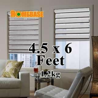 HOMEbase Zebra Blind (140cm x180cm) * Biege