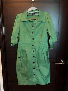 🚚 iroo襯衫洋裝