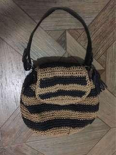 Summer Abacca Bag; not Zara Mango