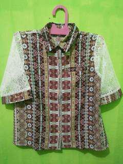 SALESTOCK Tytanie Ethnic collar shirt