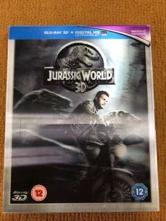 🚚 Jurassic World 3D Blu-ray Movie