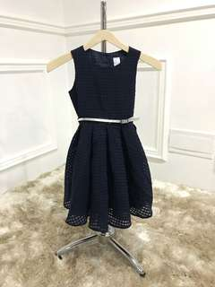 Dress Navy size 3T dan 7T