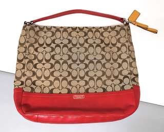 Coach Two Way Handbag 大容量兩用袋