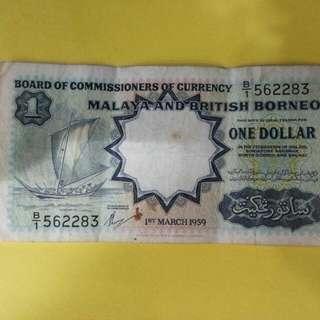 MALAYA BRITISH BORNEO