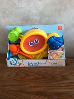 🚚 Brand new B kids Bathtime Octopus Music Maker