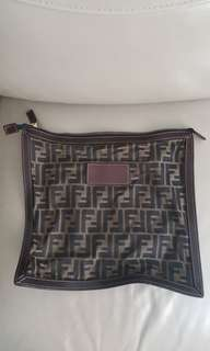 Fendi vintage clutch 90%New
