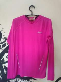 ASICS quick dry long sleeve Sports ware
