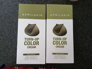 April skin turn up colour cream- avovado matt