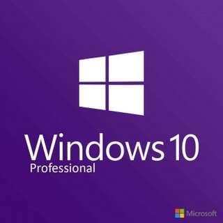 Microsoft Windows 10 Professional License key